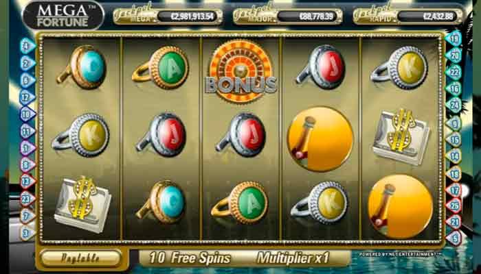 Mega Fortune NetEnt slot med free spins