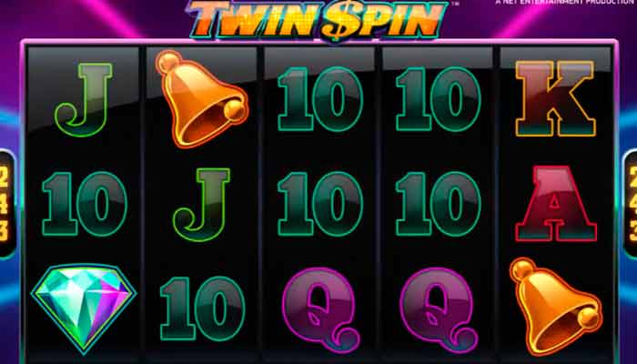 NetEnt free spins Twin Spin