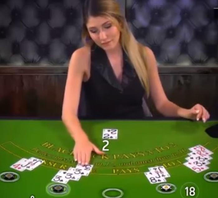 Live dealer norsk - blackjack spill
